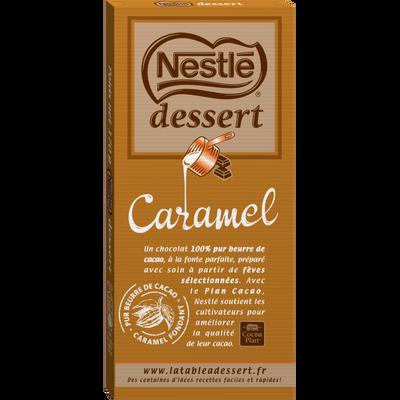 Chocolat au lait au caramel NESTLE DESSERT, 170g