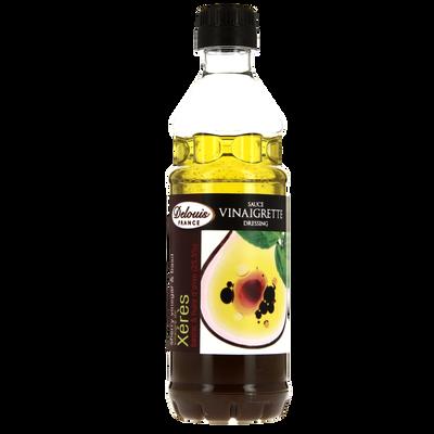 Vinaigrette vin xeres ail basilic DELOUIS, bouteille de 35cl