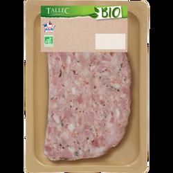 Pâté de porc, LE PETIT, BIO, 1 tranche, 150g