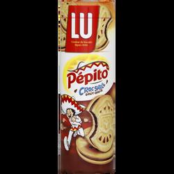 Biscuits Pépito Cro'sable LU, paquet de 294g