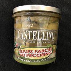 Olives vertes farcies au pecorino 180g
