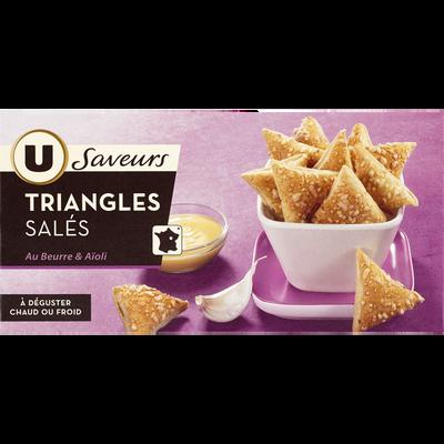 Triangle aïoli U SAVEURS, boîte de 60g