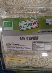 SON D'AVOINE BIO