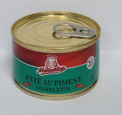 Paté au piment d'Espelette Mercadier 130g