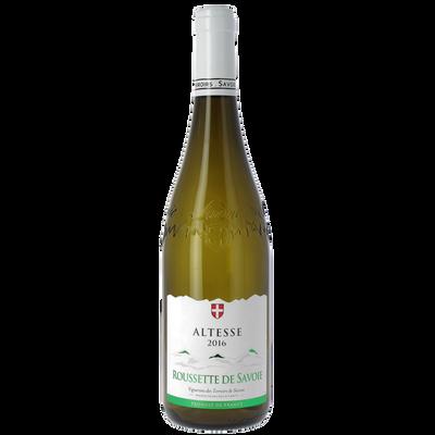 Vin blanc de Savoie Rousette Altesse AOC, bouteille de 75cl