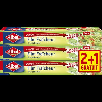 Film fraîcheur ALBAL, 30M 2+1 gratuit
