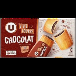 P'tit fourré cacao U, paquet de 300g