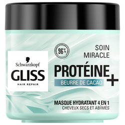 Soin masque traitement miracle cacao GLISS 400ml