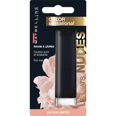 """Rouge à lèvres """"Color Sensational Mattes"""" n°987 Smoky Rose - - blister MAYBELLINE"""