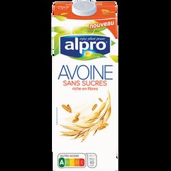 Boisson végétale avoine sans sucres ALPRO , 1 litre