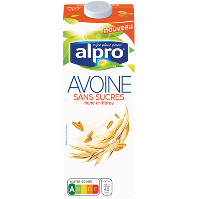 Boisson à l'avoine, avec calcium et vitamines ajoutés sans sucre ALPRO, 1 litre