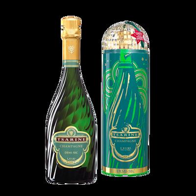 Champagne demi-sec Tsarine, 75cl sous étui