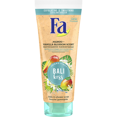 Douche gommante Bali kiss mangue/vanille FA, tube de 200ml