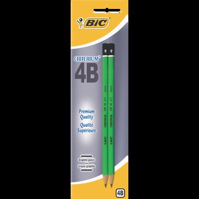 Crayon de papier 4B BIC Criterium 550, pack de 2