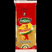 Panzani Spaghetti Cuisson 3mn Panzani, 1kg