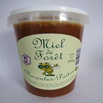 Miel de forêt,Charentes-Poitou, 500gr, pot, Coopérative apicole des Charentes et du Poitou