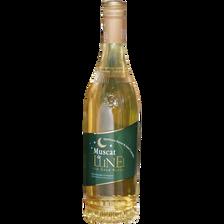 Vin doux naturel blanc traditionnel Muscat de Lunel, 75cl