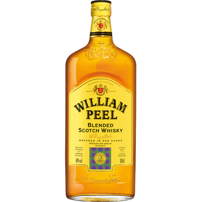 Blended Scotch Whisky WILLIAM PEEL, 40° 1l