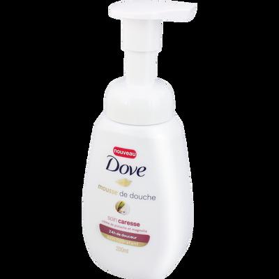 Mousse de douche soin caresse crème pistache&magnolia pompe 200ml,DOVE,200 ml