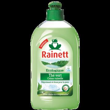 Rainett Liquide Vaisselle Écologique Crème Thé Vert Rainett, 500ml
