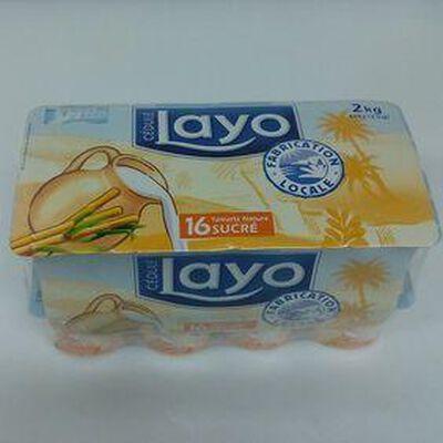 LAYO NATURE SUCRE 16X125G