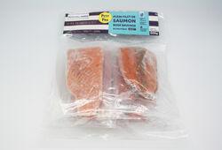 Plein filet saumon rose du Pacifique, PASSION FROID, sachet de 600G