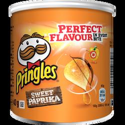 Sweet paprika PRINGLES, mini paquet de 40g