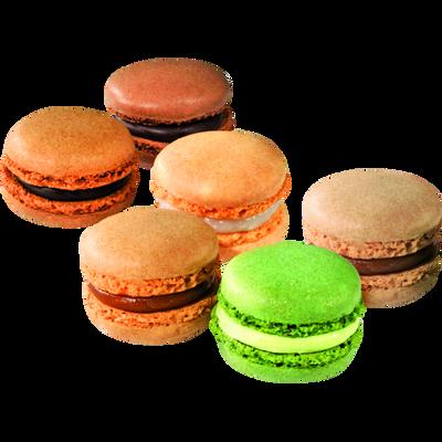 Macaron gourmand, 6 pièces, 85g