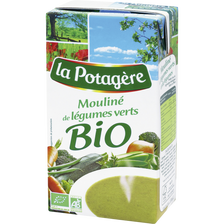 Potage bio mouliné de légumes verts LA POTAGERE, 1l