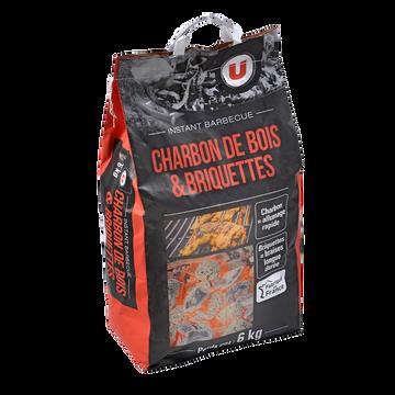 Mix Mix Charbon De Bois+briquette U, 6kg