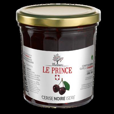 Confiture extra de cerises noires THOMAS LE PRINCE, 350g