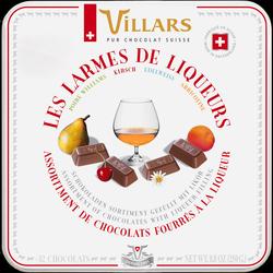 Chocolat larmes de liqueur VILLARS, 250g