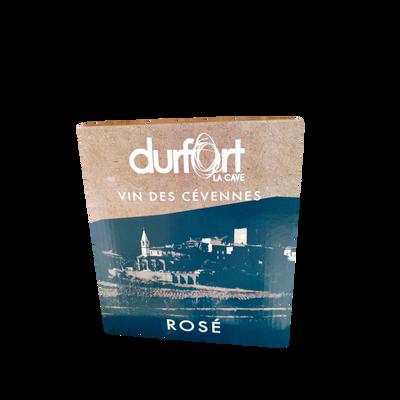 IGP des Cévennes rosé DUFORT 12° BIB 3 litres