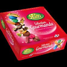Assortiment de bonbons et chocolats Sélection Gourmande LUTTI, 450g