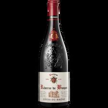 Vin rouge AOP Côtes du Rhône réserve de Bonpas, 2015, 75cl