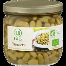 Flageolets cuisinés U bio, 215g