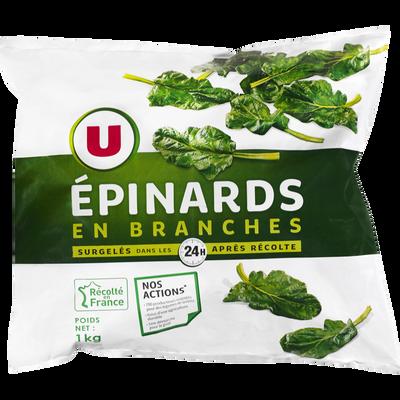 Epinards en branches U, 1kg