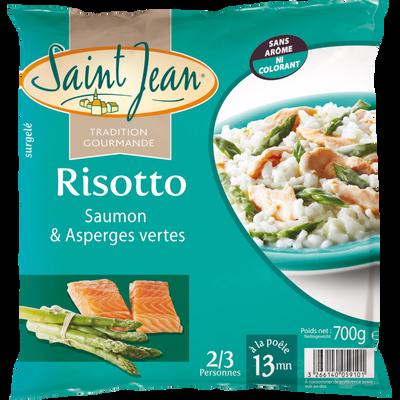 Risotto saumon et asperges vertes SAINT JEAN, 700g
