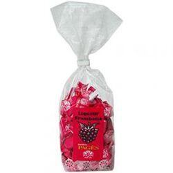 Bonbons enveloppés fourrés à la liqueur de frmaboise Pagès 165 Gr