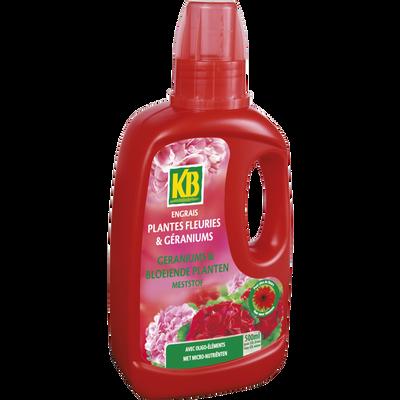 Engrais liquide pour fleurs et géraniums KB, 500ml