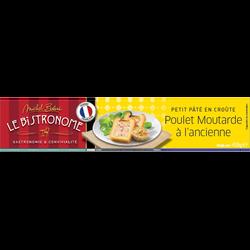 Petit pâté en croûte au poulet et à la moutarde MICHEL BOLARD, 450g