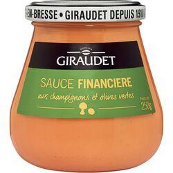 Sauce financière GIRAUDET, bocal de 250