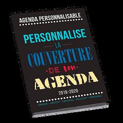 Agenda U personnalisable, 12x17cm