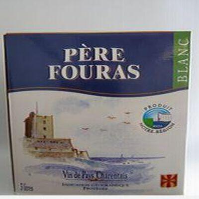 Vin de pays charentais blanc IGP brique 3 litres Père Fouras