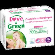 Love & Green Couches Sensitives Et Écologiques Taille 4 Love&green, X42