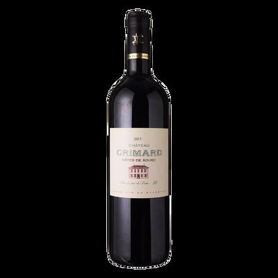 Côtes de Bourg AOP rouge Château Grimard, bouteille de 75cl