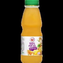 Pur jus multifruits U, bouteille en plastique de 50cl