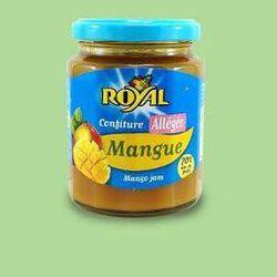 Confiture allégée ROYAL, de mangue (70%), 315g