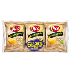 Chips la gourmande VICO, multipack 6x30g
