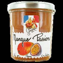 Préparation mangue passion cuites aux pommes et au chaudron LUCIEN GEORGELIN, pot de 320g